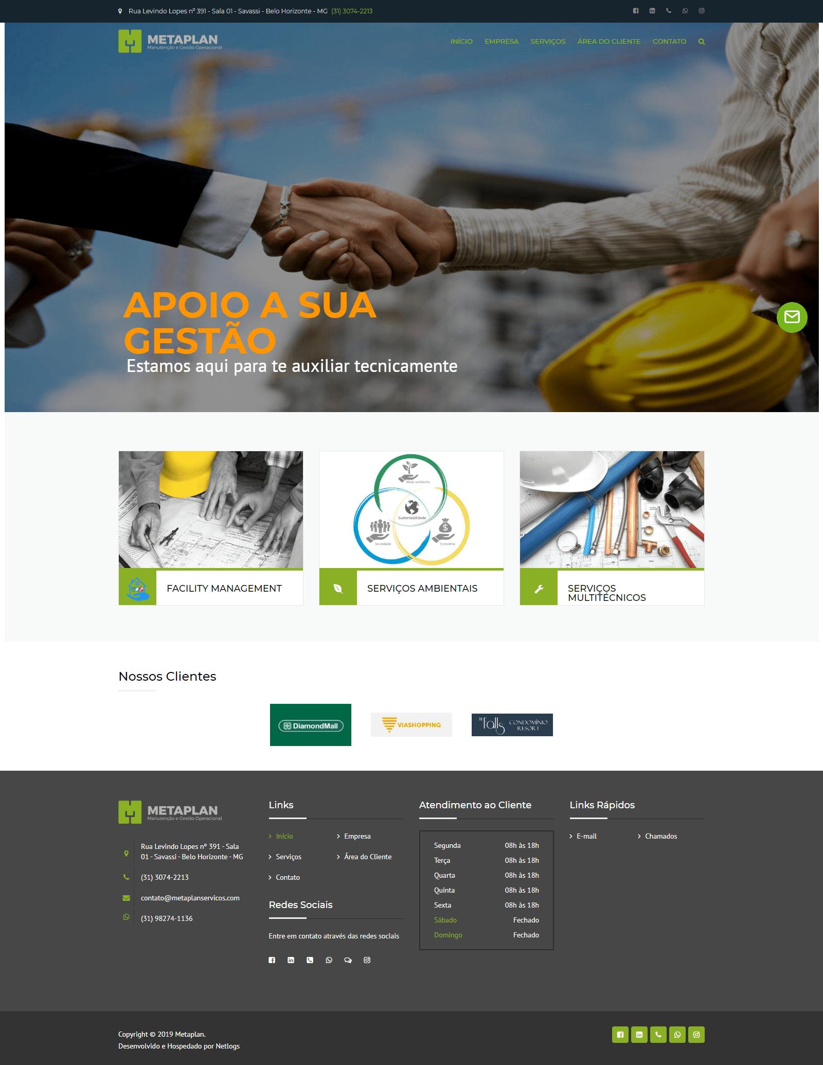 Criação de sites em BH